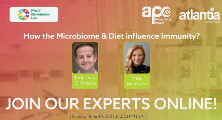 does diet and the microbiome influence immunity