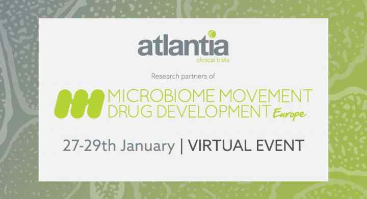 Atlantia Clinical Trials, partners of 2021 Microbiome Movement - Drug Development summit EU